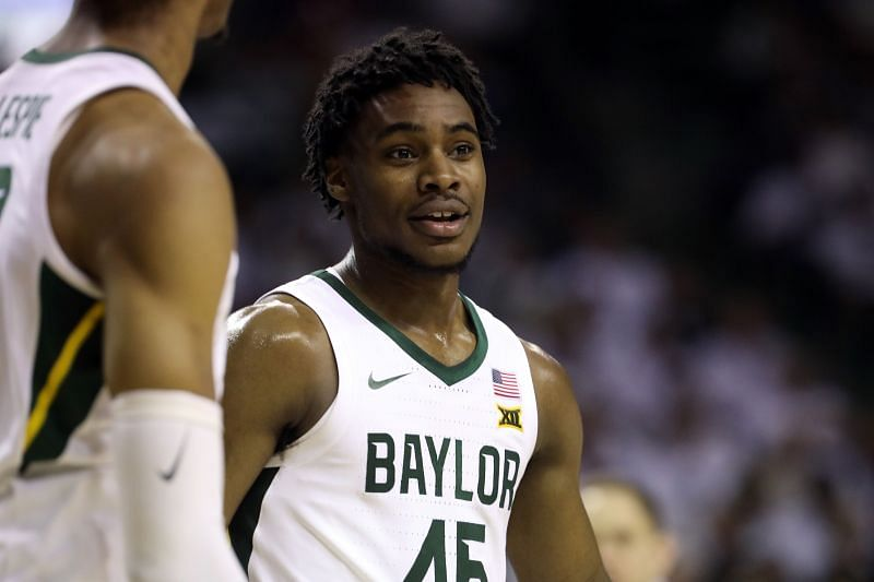Baylor Bears guard #45 Davion Mitchell