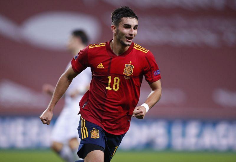 Ferran Torres scored Spain