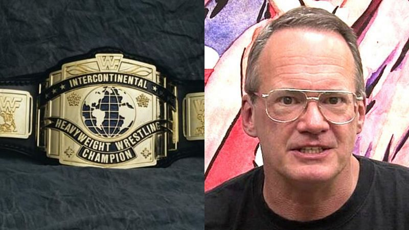 WWE IC title and Jim Cornette.
