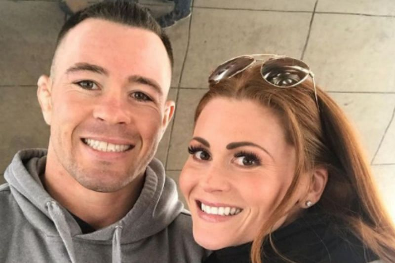 Colby Covington with Candace Covington via Instagram