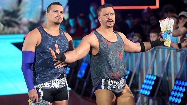 Epico and Primo in WWE