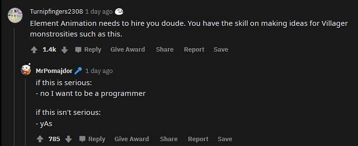 The OP being praised for his expertise (Image via Reddit)
