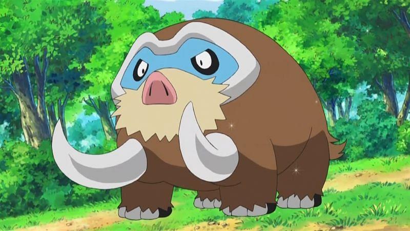 Mamoswine (Image via The Pokemon Company)