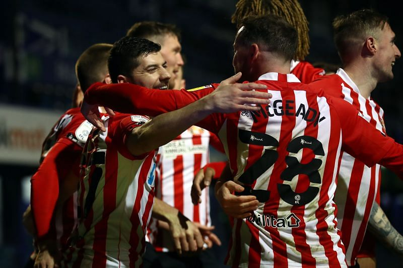 Sunderland will take on Bristol Rovers on Saturday