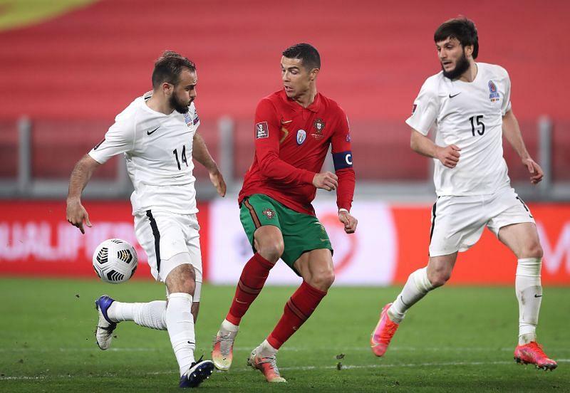 Azerbaijan did not threaten the Portugal defense