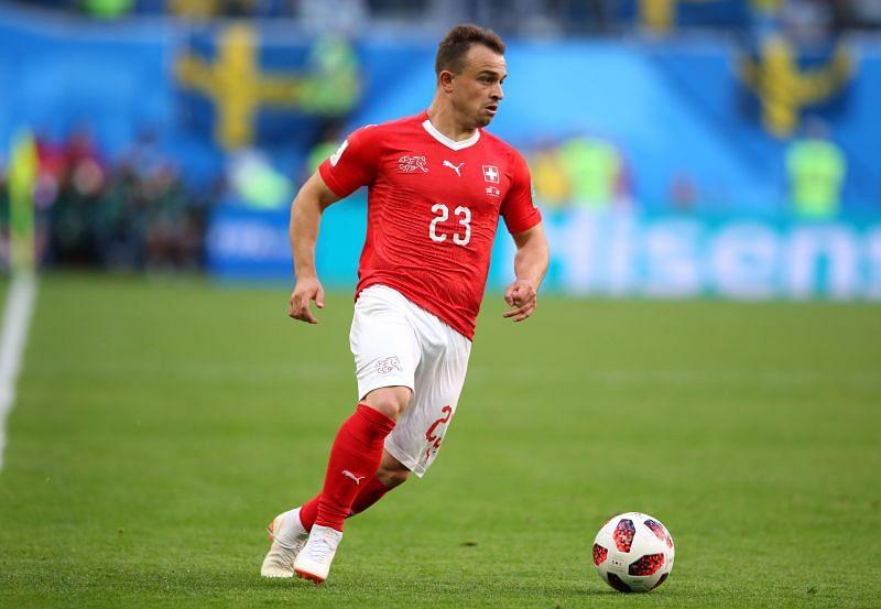 Shaqiri will be in action for Switzerland against Bulgaria