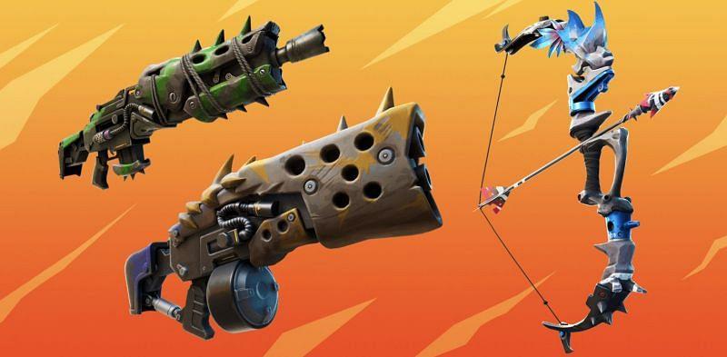 Fortnite Season 6 Weapons (Image via Epic Games)