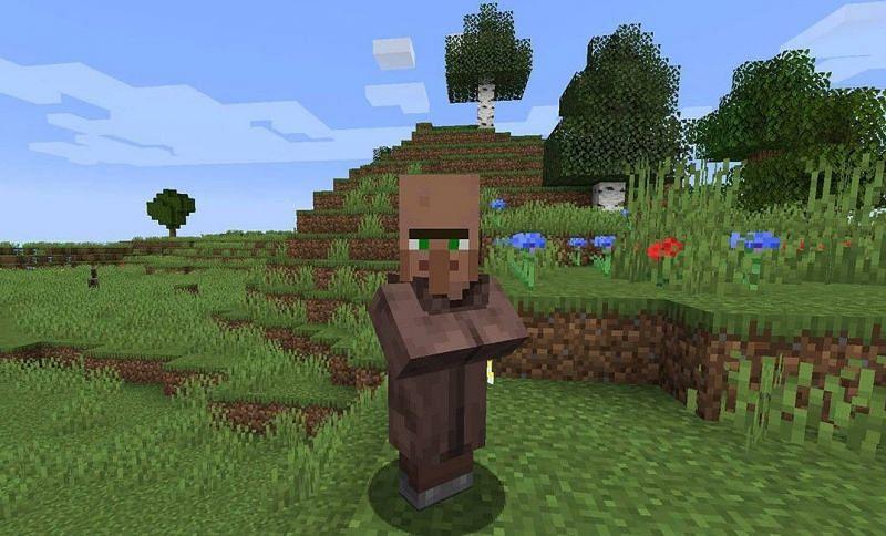 Trading Villager (Image via mchitmod.com)