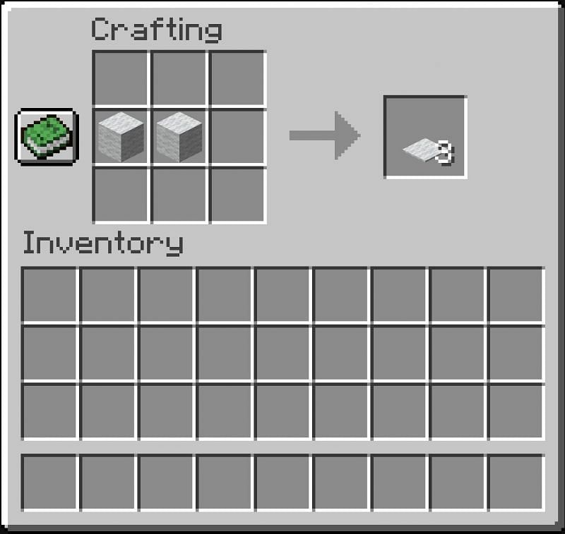 Place Wool on the Crafting Grid