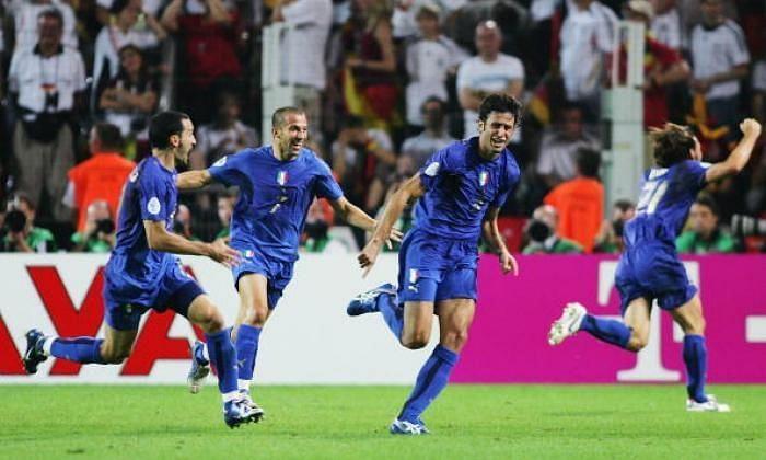 Fabio Grosso scored Italy