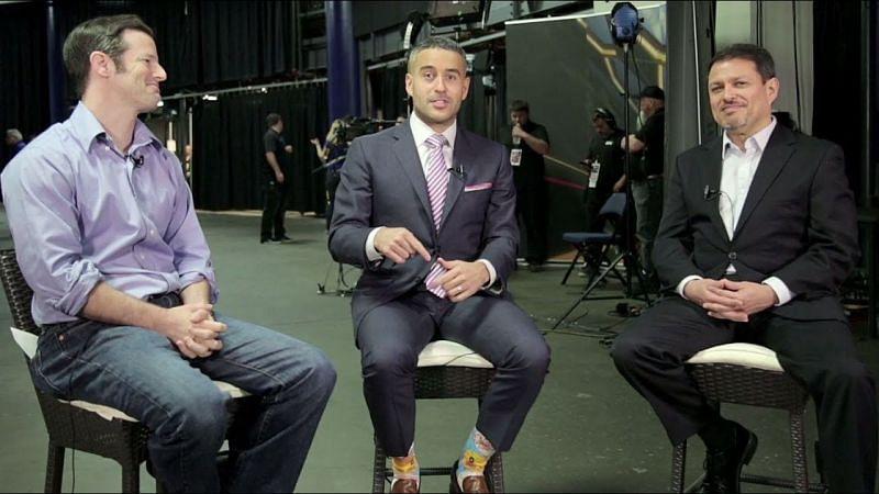 Sean Shelby, Jon Anik, and Joe Silva (image courtesy - YouTube)
