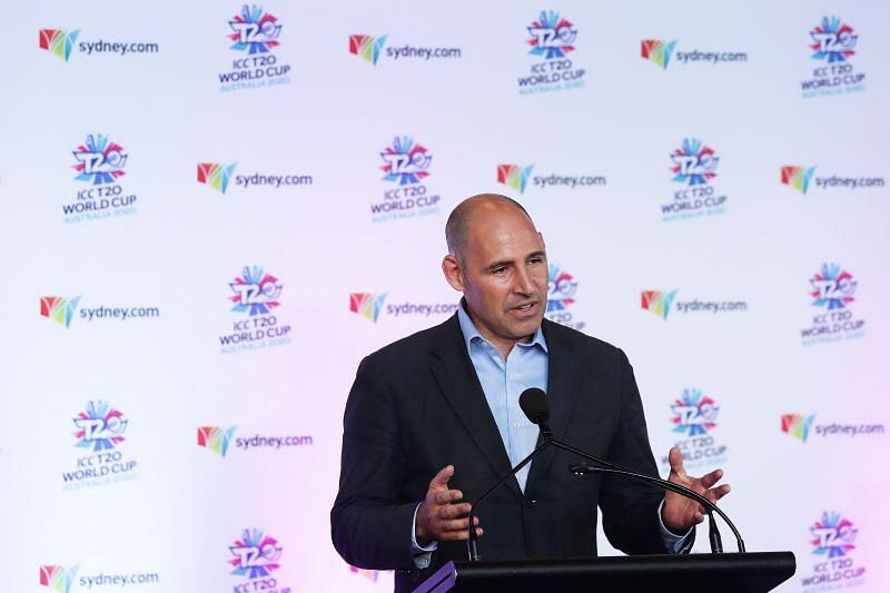 Cricket Australia CEO Nick Hockley