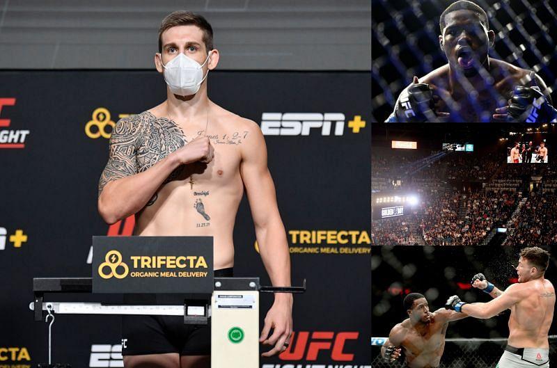 Brendan Allen talks Kevin Holland, UFC 261 opponent Karl Roberson and the return of fans