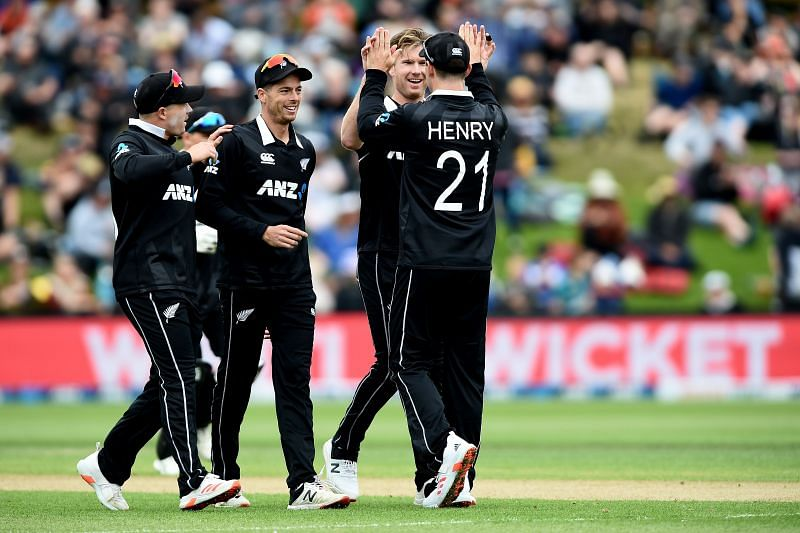 New Zealand won the last ODI on this ground by eight wickets