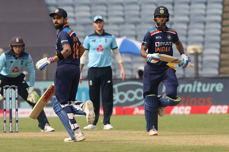 Virat Kohli and Shikhar Dhawan were in good nick in the 1st ODI