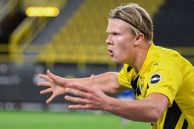 Chelsea have been linked with Borussia Dortmund forward Erling Haaland.