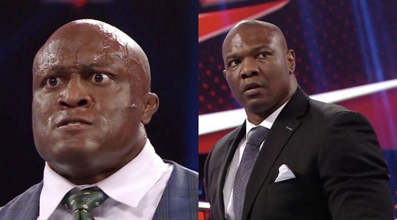 Bobby Lashley and Shelton Benjamin on WWE RAW