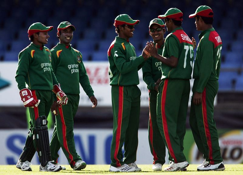 Bangladesh played an ODI match against New Zealand at Eden Park