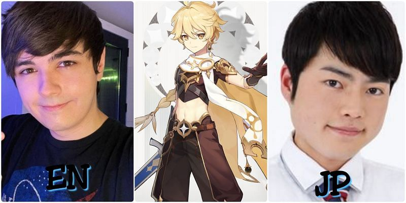 Voice actors of Aether in Genshin Impact