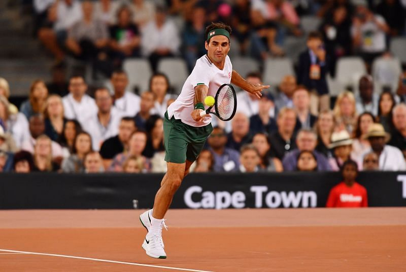 The Match in Africa: Roger Federer