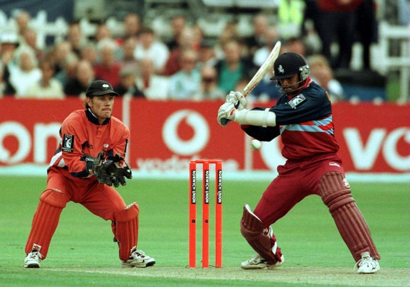 Rahul Dravid batting for Kent