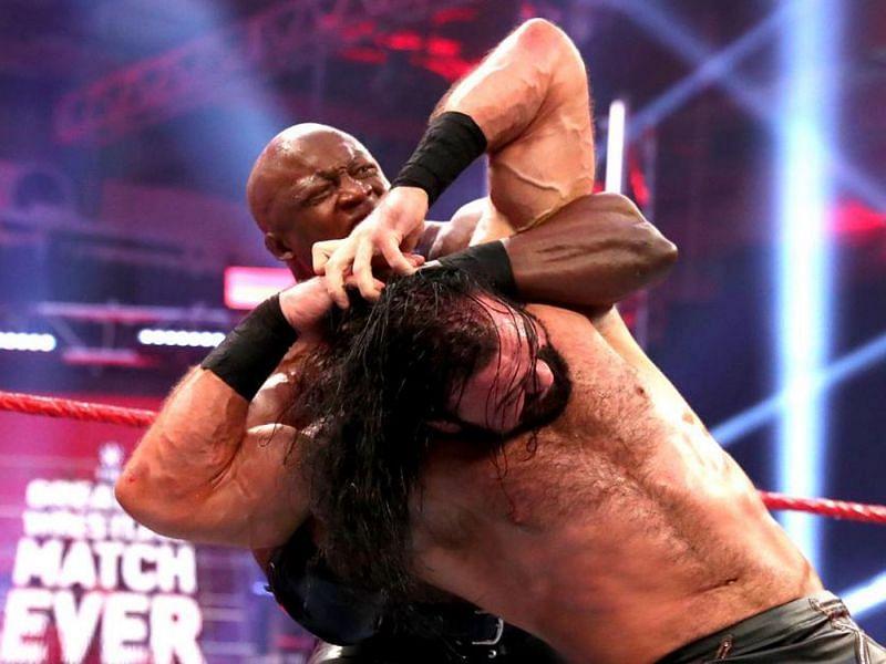 Bobby Lashley and Drew McIntyre in WWE