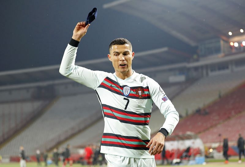 Serbia v Portugal - Cristiano Ronaldo was furious with the referees