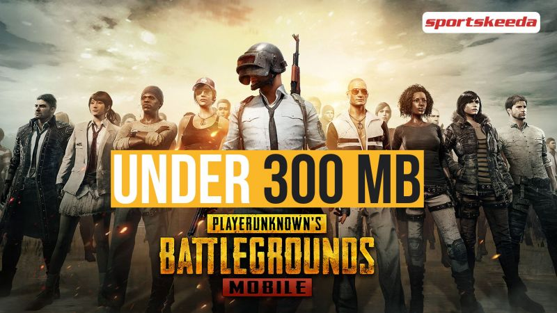 Games like PUBG Mobile under 300 MB