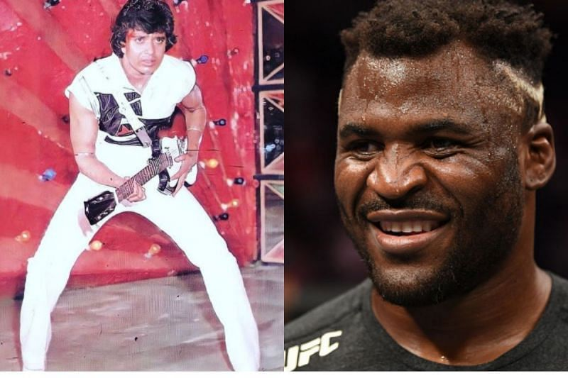 Disco Dancer (L) and Francis Ngannou (R)
