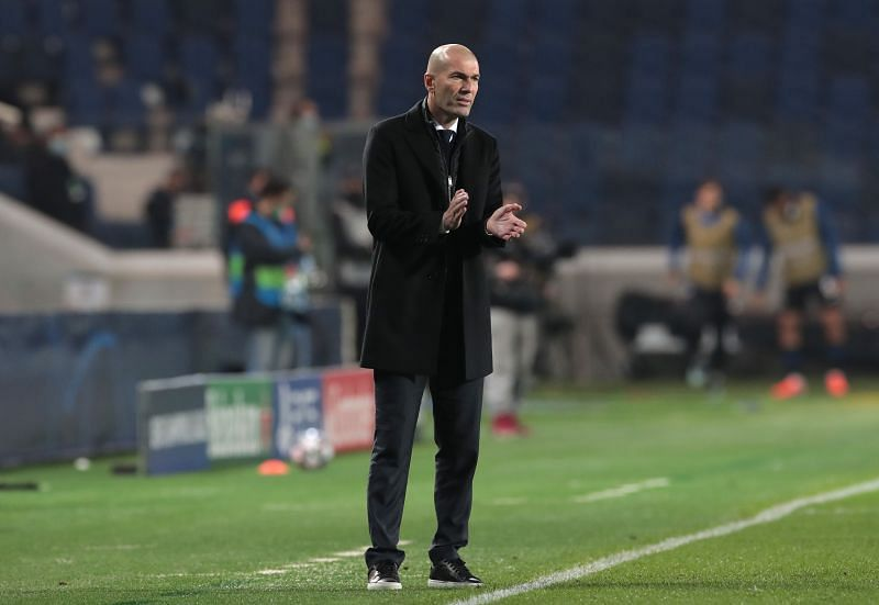 Zinedine Zidane wants to bring in a striker in the summer.