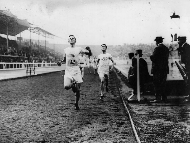 Melvin Sheppard at the 1908 London Olympics