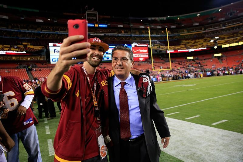 Washington Football Team Owner Dan Snyder