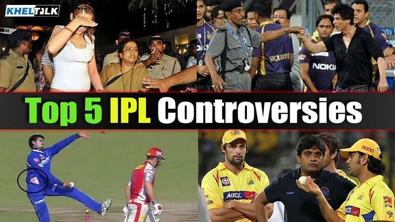 Top 5 all-time controversies of IPL