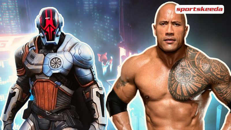 The Rock is now going to associate with the game in Fortnite Season 6? (Image via Sportskeeda)