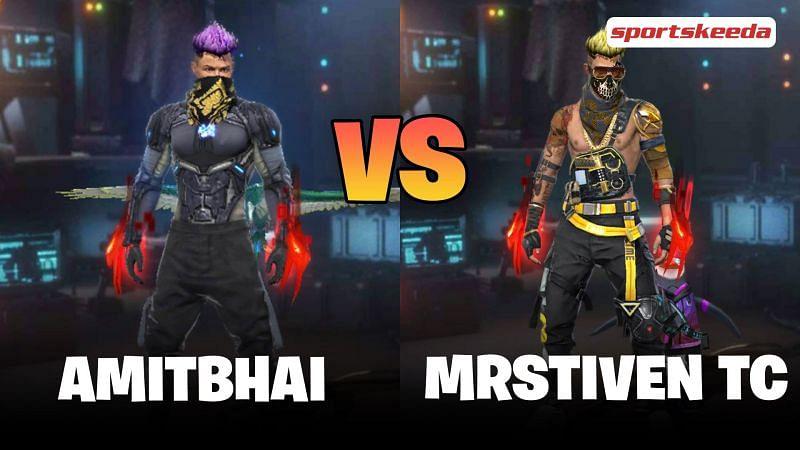 Garena Free Fire: Amitbhai vs MrStiven TC
