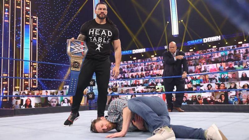 Roman Reigns stood tall to end WWE SmackDown