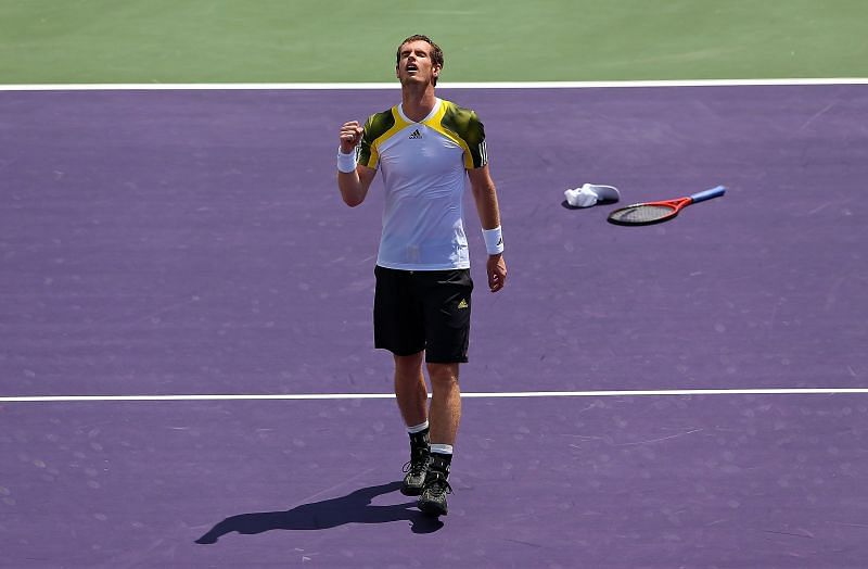 Andy Murray won the Miami Masters in 2009 and 2013