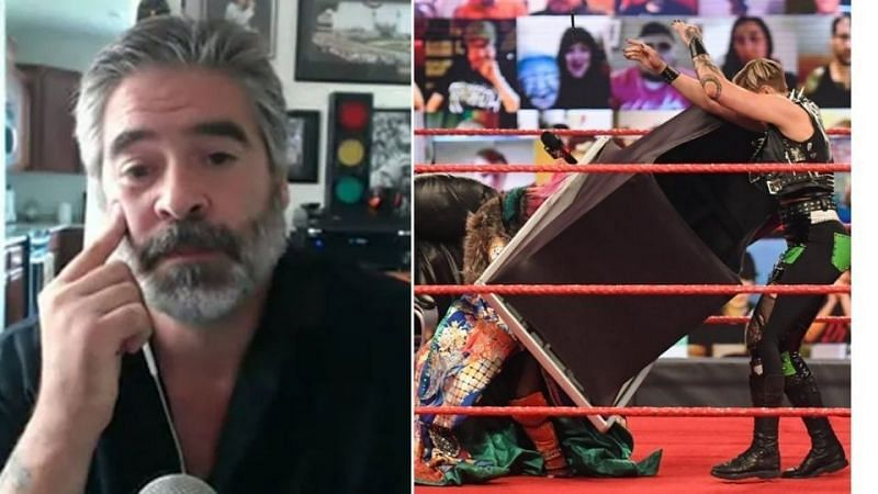 Vince Russo was not happy with the promo work during one segment on WWE RAW