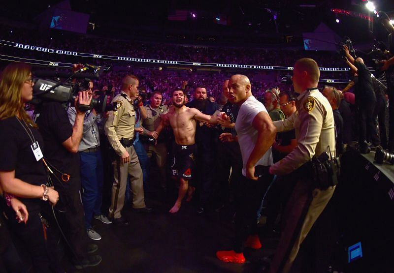 UFC 229: Khabib v McGregor ended with a post-fight brawl