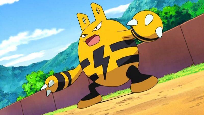Elekid in the anime (Image via The Pokemon Company)
