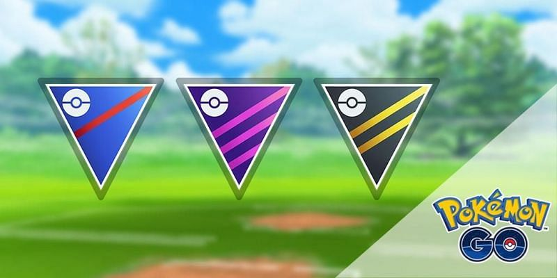 Great League, Master League, and Ultra League (Image via Niantic)