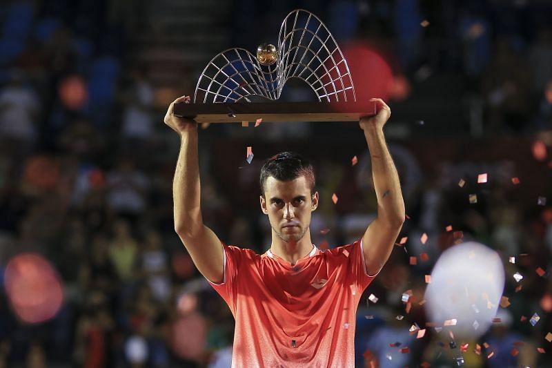 Laslo Djere won the 500-level event at Rio in 2019