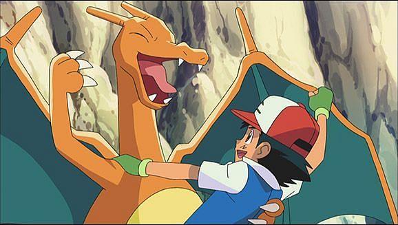 Ash and Charizard (Image via The Pokemon Company)