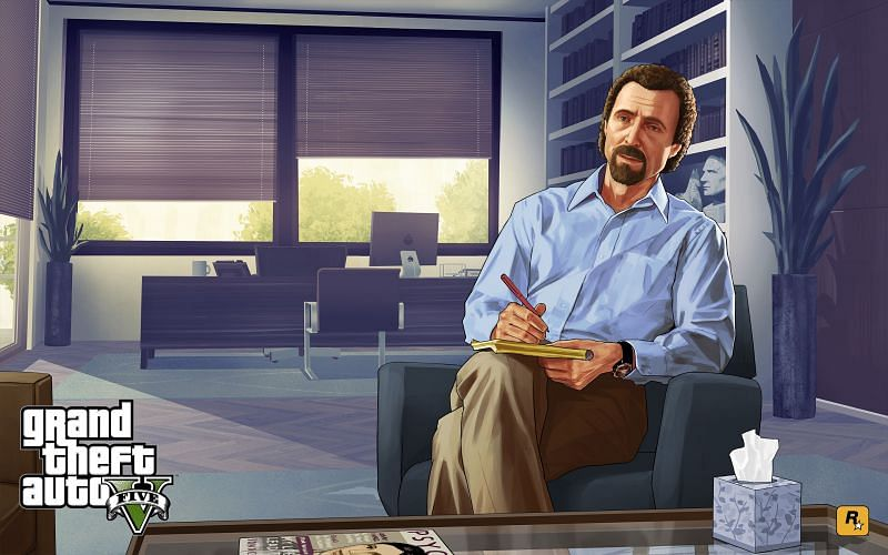 The doc is apathetic to Michael and his troubles (Image via Rockstar Games)