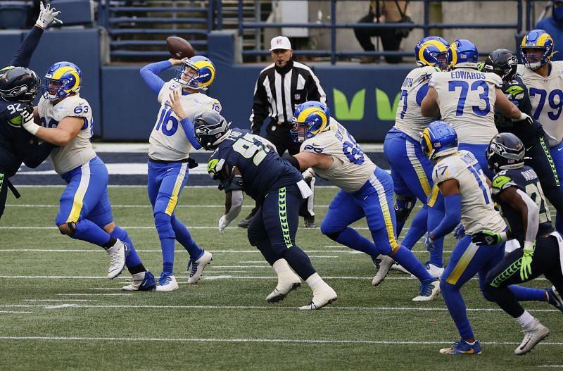Wild Card Round - Los Angeles Rams vs Seattle Seahawks