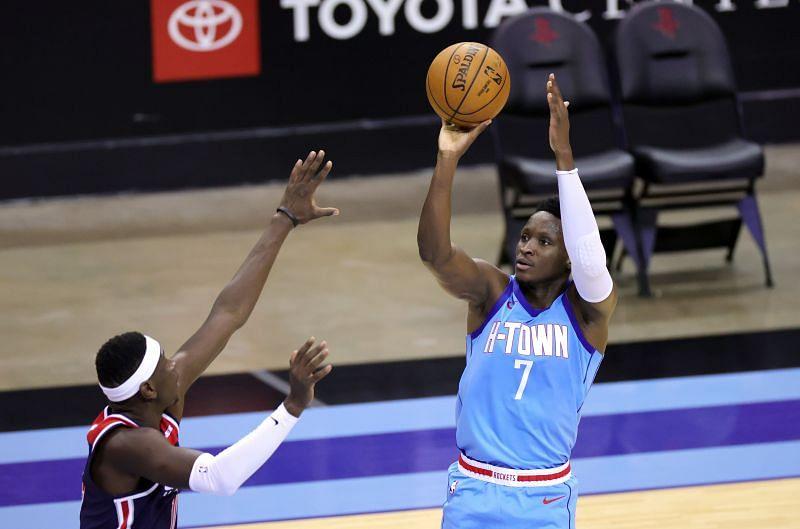 Victor Oladipo #7 of the Houston Rockets