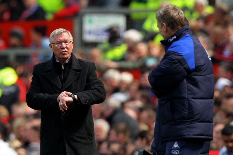There was a long-standing respect between Sir Alex Ferguson (right) and David Moyes.