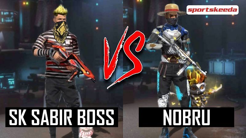 SK Sabir Boss vs Nobru in Garena Free Fire