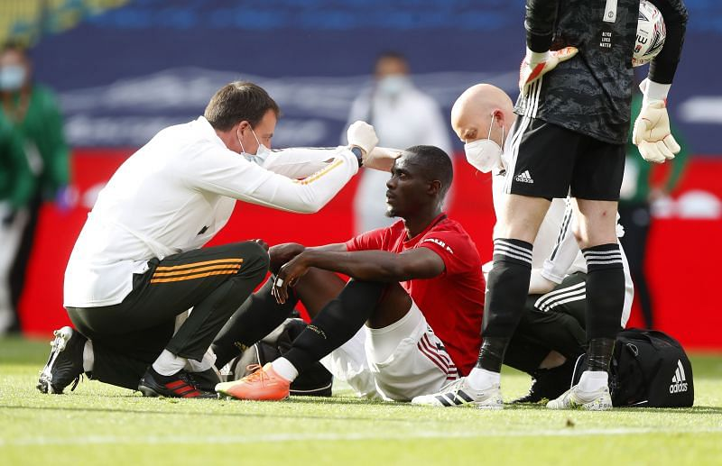 Eric Bailly has missed a lot of games this season due to injury