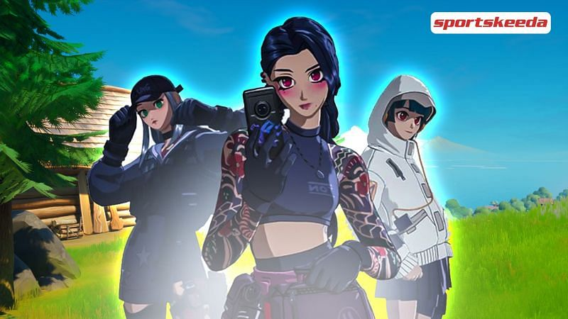 New anime bundle in Fortnite Season 6